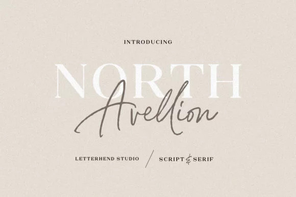 North Avellion Font Duo