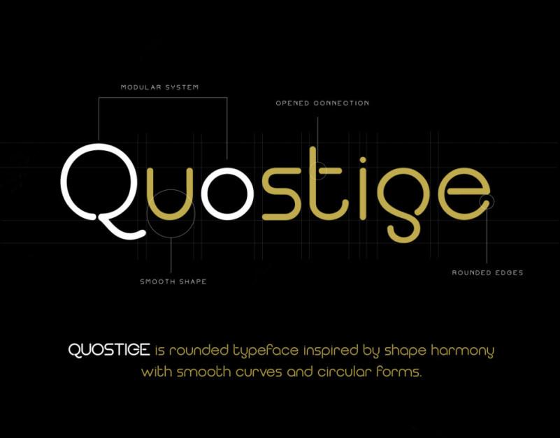 Quostige Sans Font