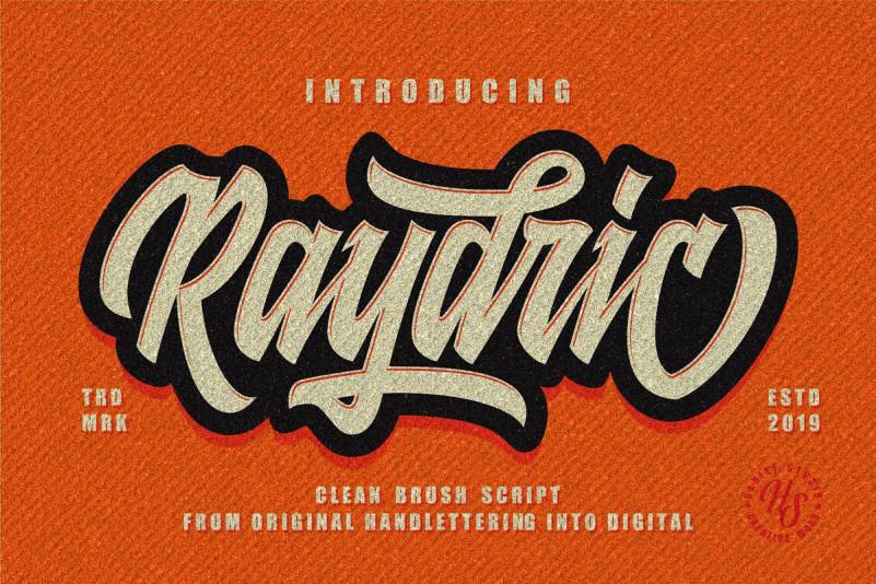 Raydric Script Font
