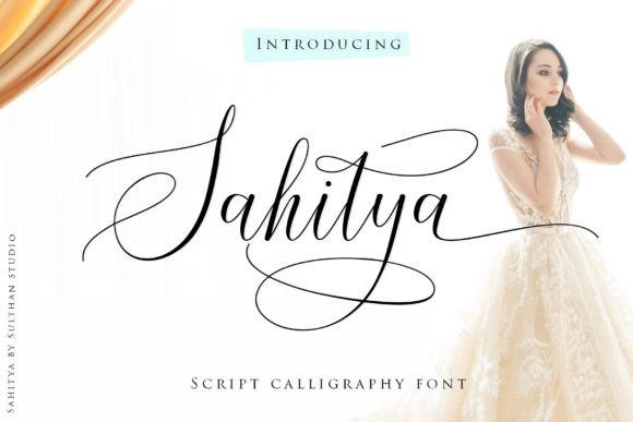 Sahitya Calligraphy Font