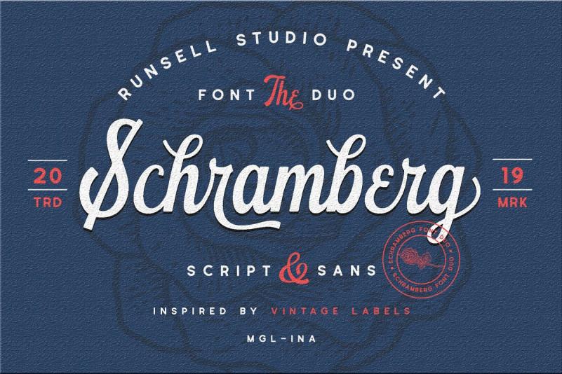 Schramberg Font Duo