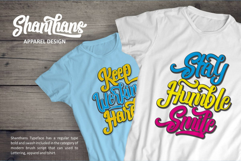 Shanthans Font