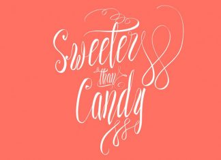 Sweeter than Candy Script Font