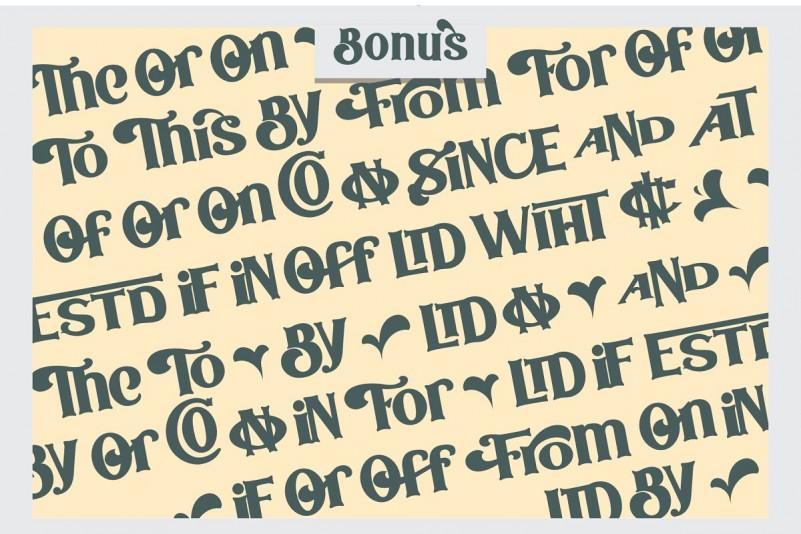 Bodbug Typeface