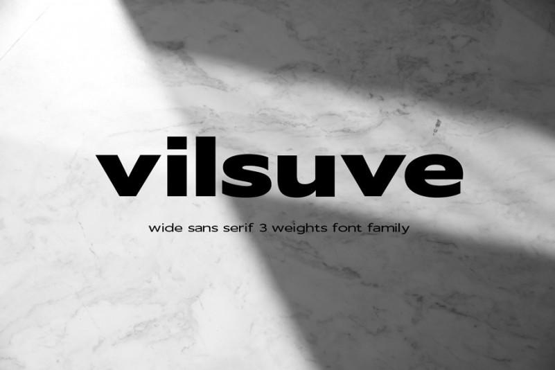 Vilsuve Sans Font Family