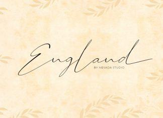England Handwritten Font
