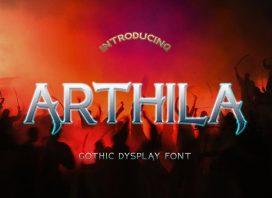 ARTHILA Display Font