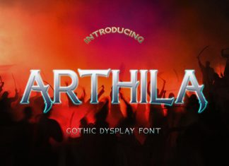 ARTHILA Display Font