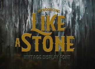 LikeAStone Vintage Font