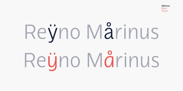 Ahimsa Sans Font Family