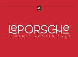 AL LePorsche Retro Font