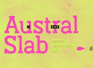 Austral Slab Font Family