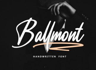 Ballmont Script Font