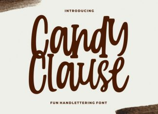 Candy Clauseis Handlettering Font