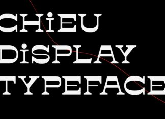 Chieu Display Typeface