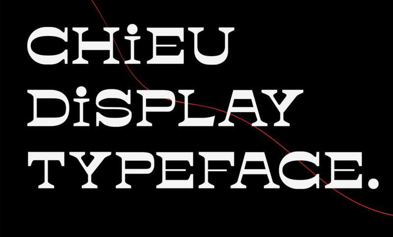 Chieu Typeface