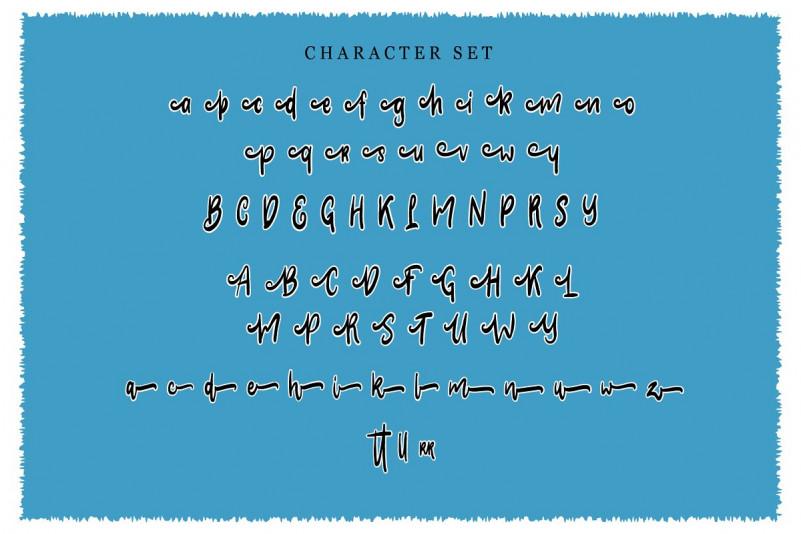 Clarra Script Font