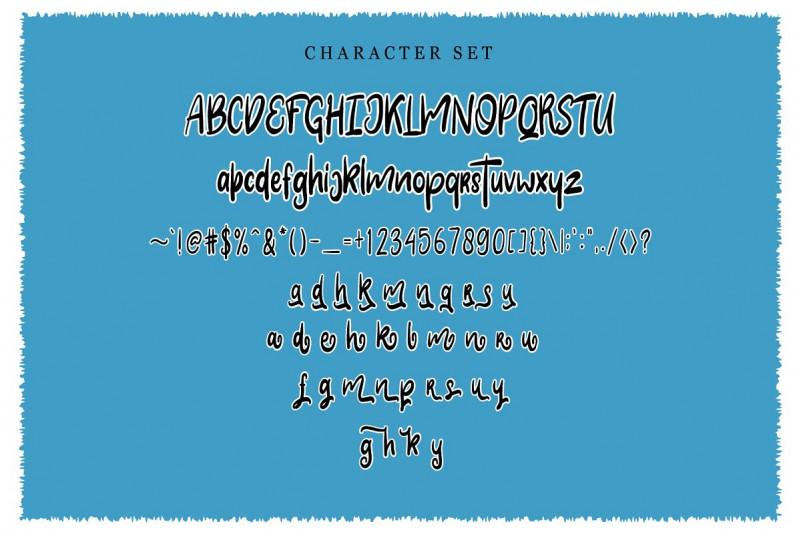 Clarra Layered Script Font