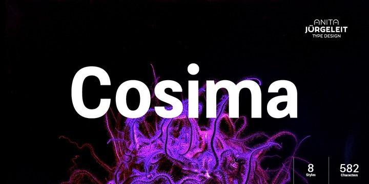 Cosima Sans Font Family