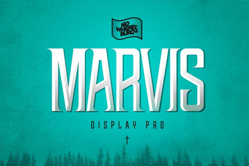 NWB Marvis Display Font