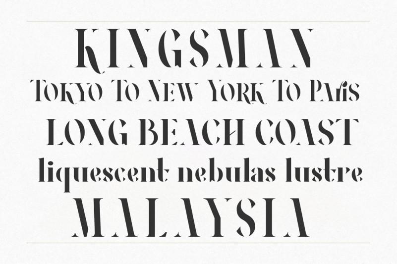 RONEOUS Serif Font