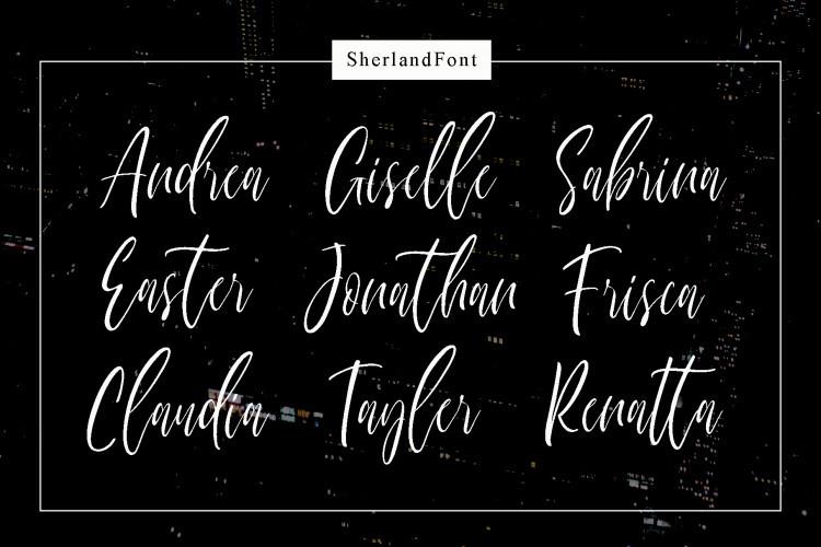 Sherland Font