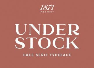 Understock Serif Font