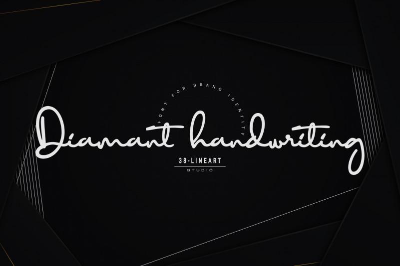 Diamant handwriting Font