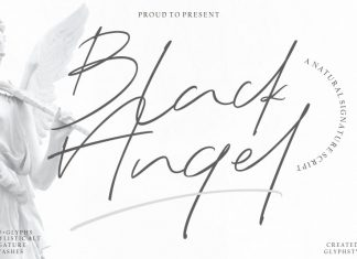 Black Angel - Signature Font