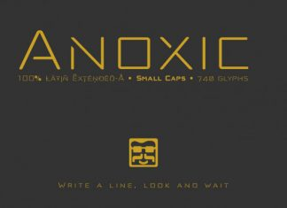 Anoxic Font Family