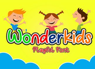 Wonderkids Display Font