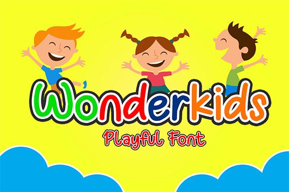 Wonderkids Display Font