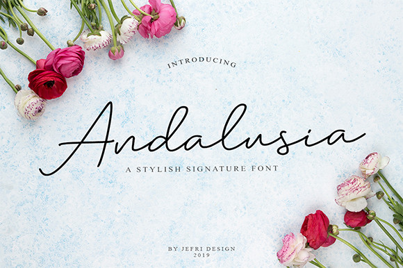 Andalusia Script Font
