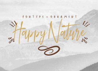 Happy Nature Script Font