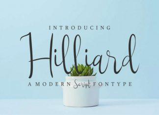 Hilliard Script Font