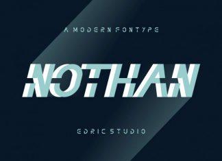 Nothan Futuristic Font