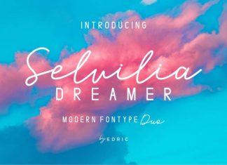 Selvillia Dreamer Font Duo