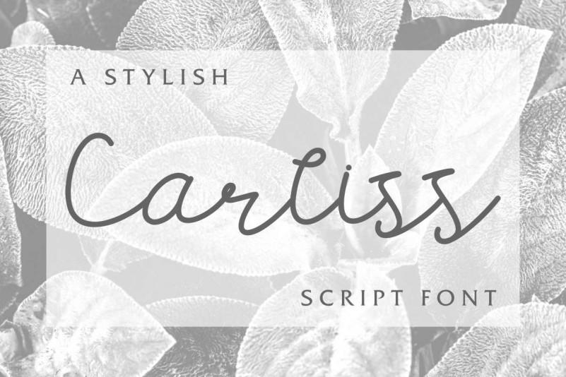 Carllis Script Font
