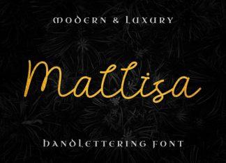 Mallisa Handwritten Font