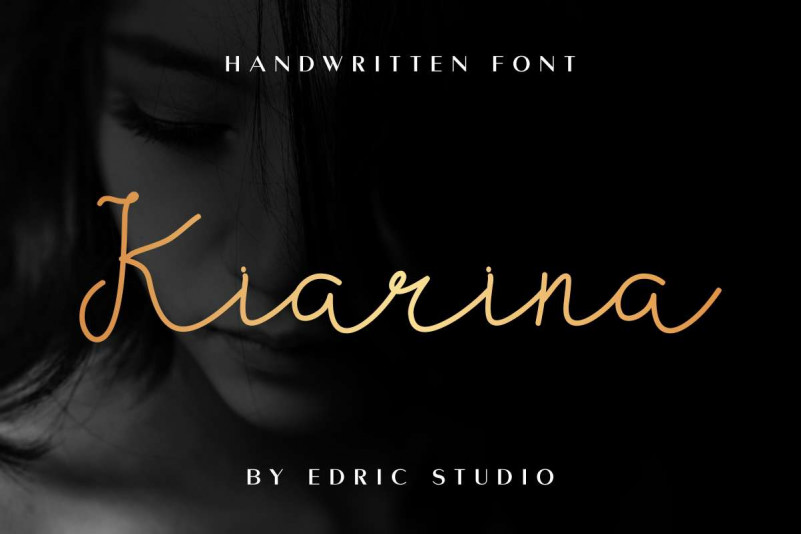 Kiarina Handwriting Font