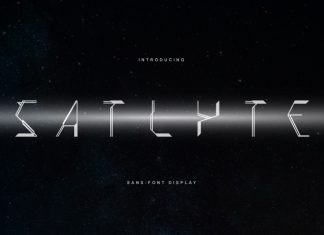 Satlyte Display Font
