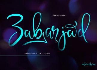 Zabarjad Handwritten Font