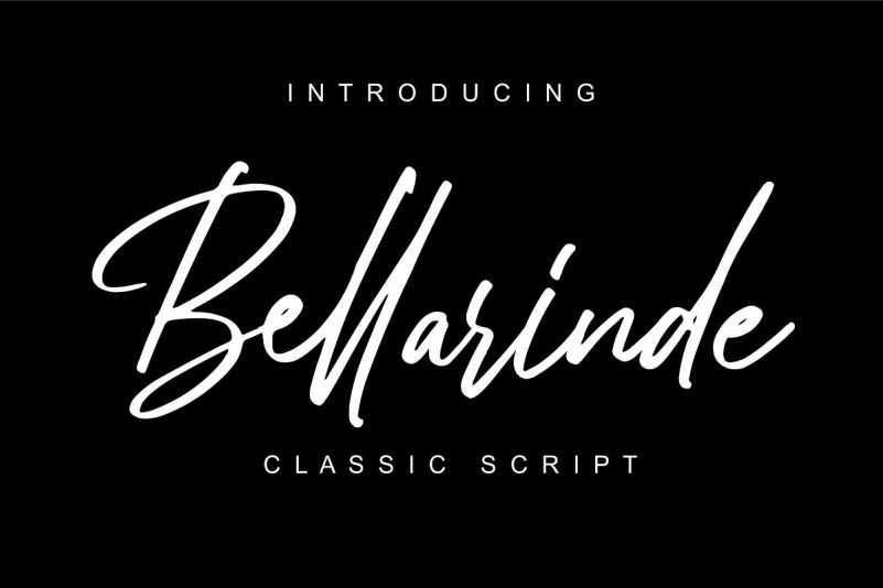 Bellarinde Script Font