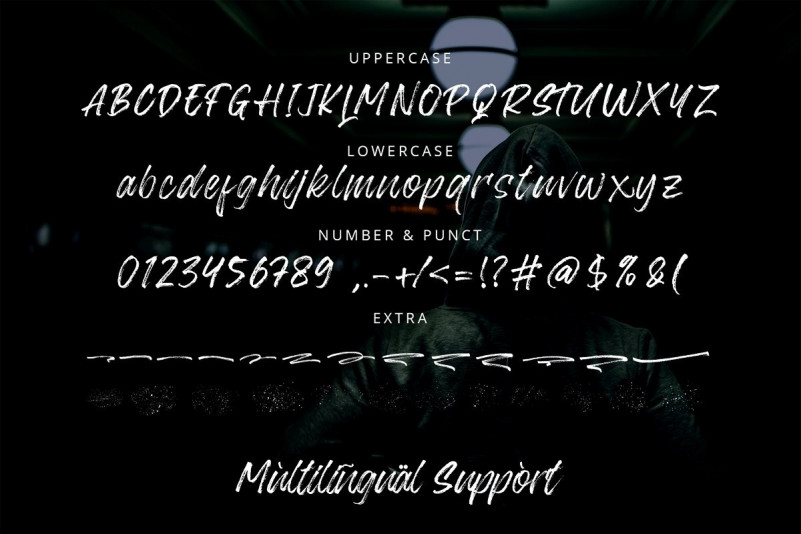 Blackway Brush Font