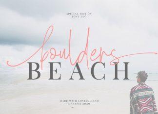Boulders Beach Script Font