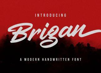 Brigan Bold Script Font