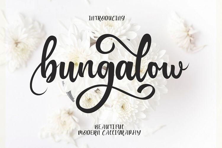 Bungalow Script Font