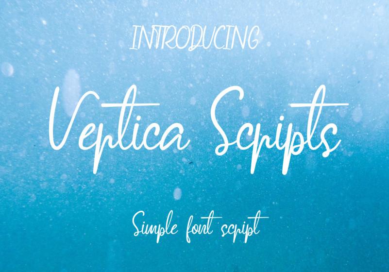 Vertica Script Font