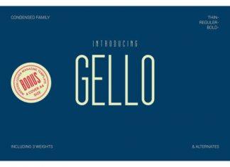 Gello Font Family