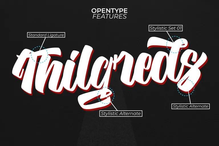 Hilgreds Font